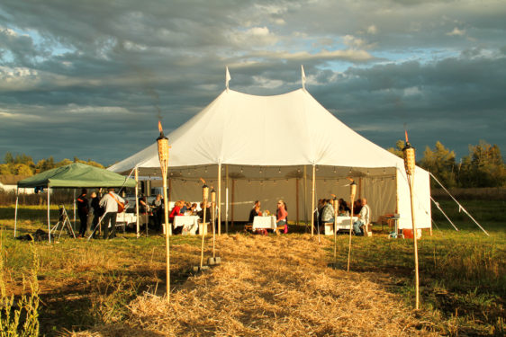 Fraser Valley Cider Party Tent